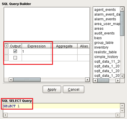 Query Builder - Ignition User Manual 7 9 - Ignition