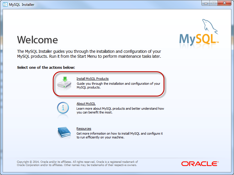 Installing MySQL - Ignition User Manual 7 8 - Ignition