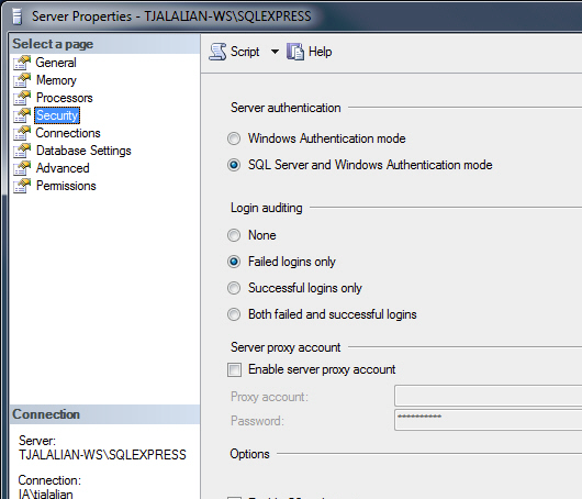 Connecting to Microsoft SQL Server Express - Ignition User Manual 7.8 -  Ignition Documentation
