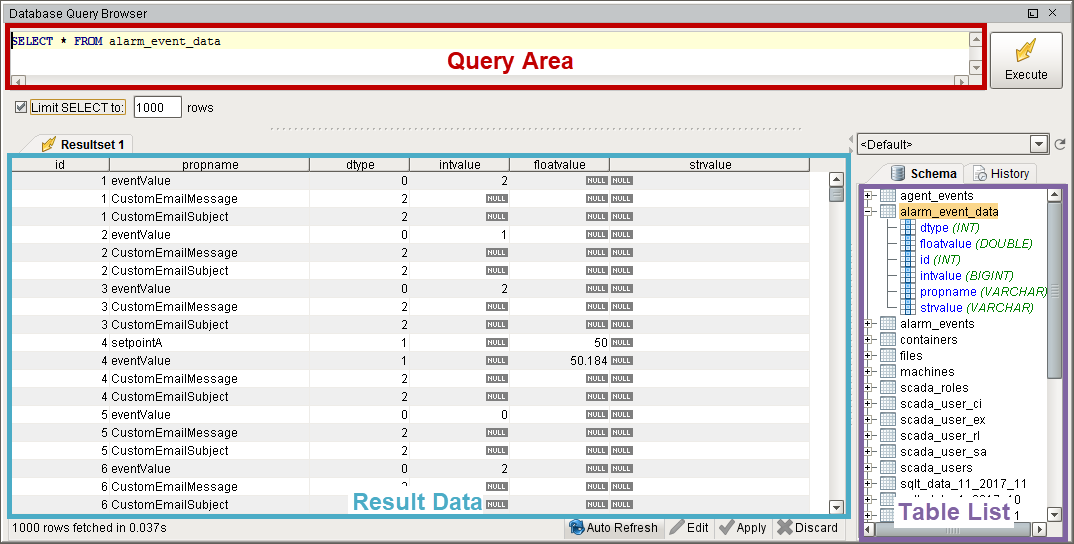 SQL Query Tool (Using ODBC) - Free download and software ... |Database Query