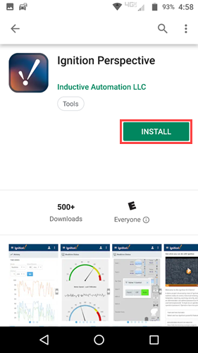 Ignition Perspective App - Ignition User Manual 8 0