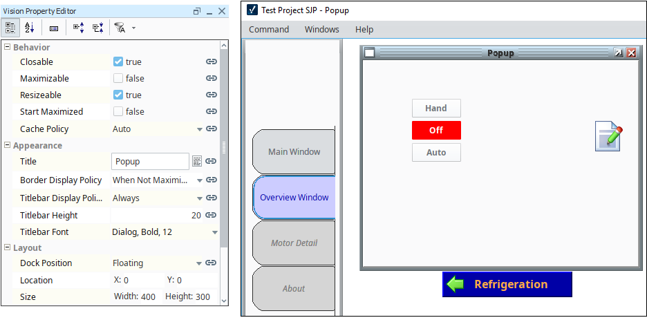 Popup Windows - Ignition User Manual 8 0 - Ignition Documentation