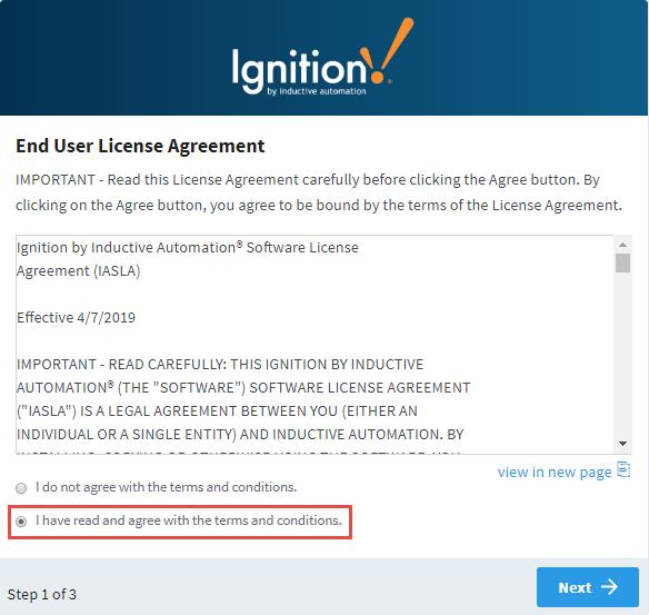 Windows - Install - Ignition User Manual 8 0 - Ignition Documentation