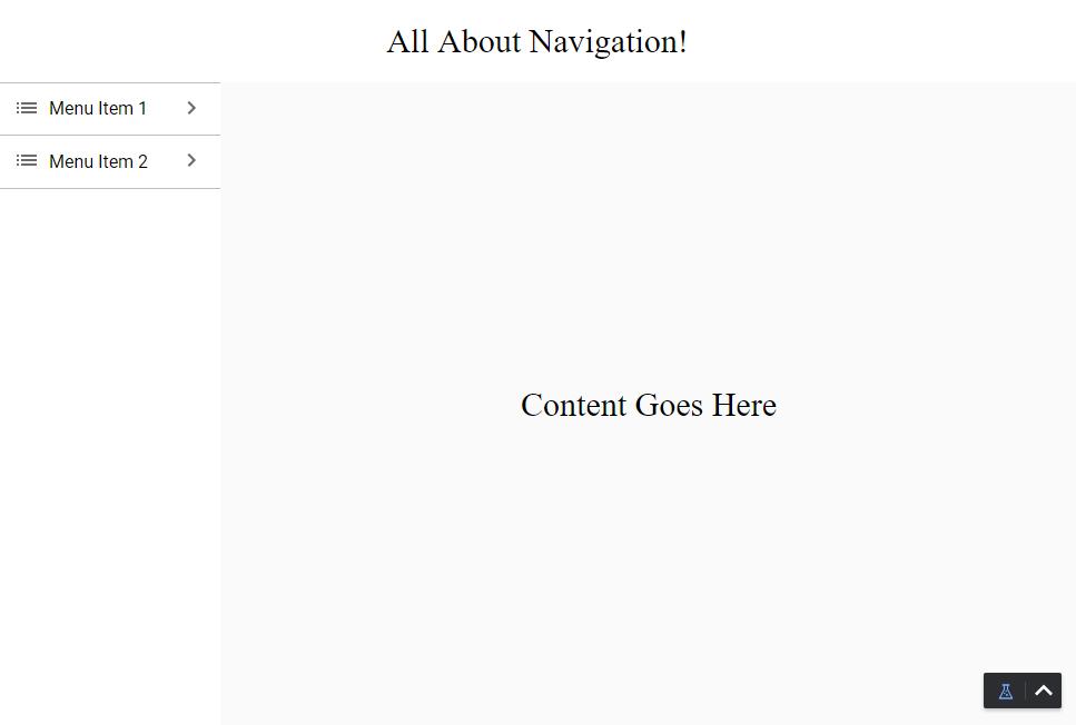 Self-Hiding Navigation Drawer - Ignition User Manual 8 0 - Ignition