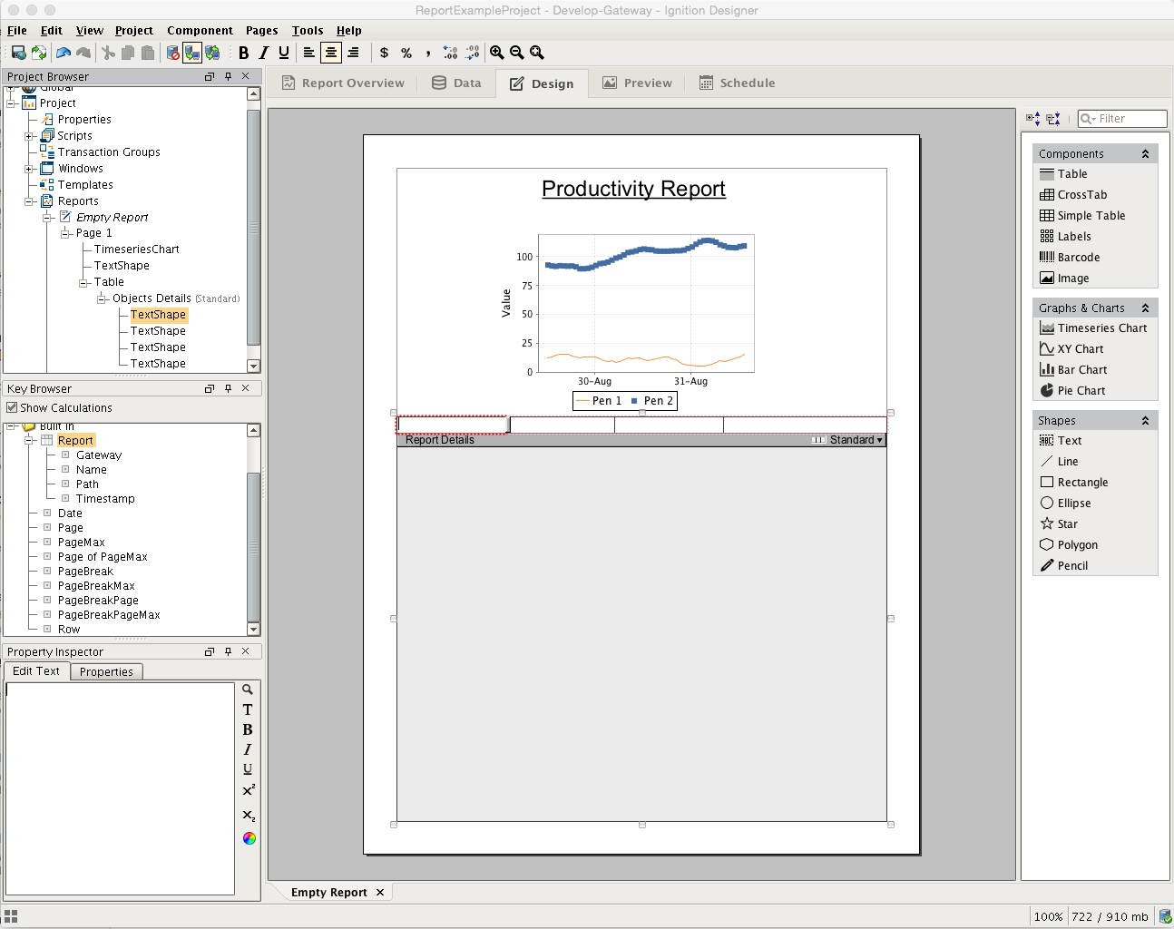 report designer download