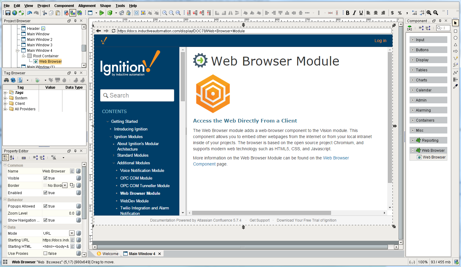 Web browser module ignition user manual 79 ignition documentation more information on the web browser module can be found on the web browser component page publicscrutiny Gallery