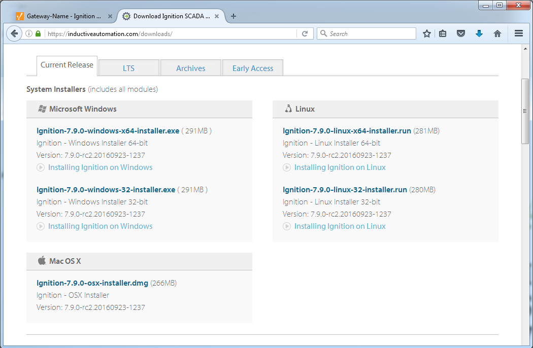 Windows - Install - Ignition User Manual 7 9 - Ignition Documentation