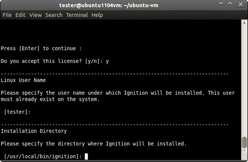 Linux - Install - Ignition User Manual 7 9 - Ignition