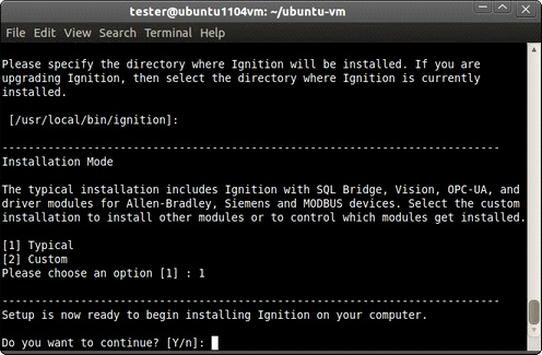 Linux - Install - Ignition User Manual 7 9 - Ignition Documentation