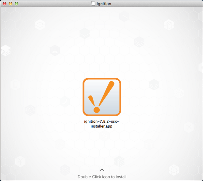 Mac OS X - Install - Ignition User Manual 7 9 - Ignition