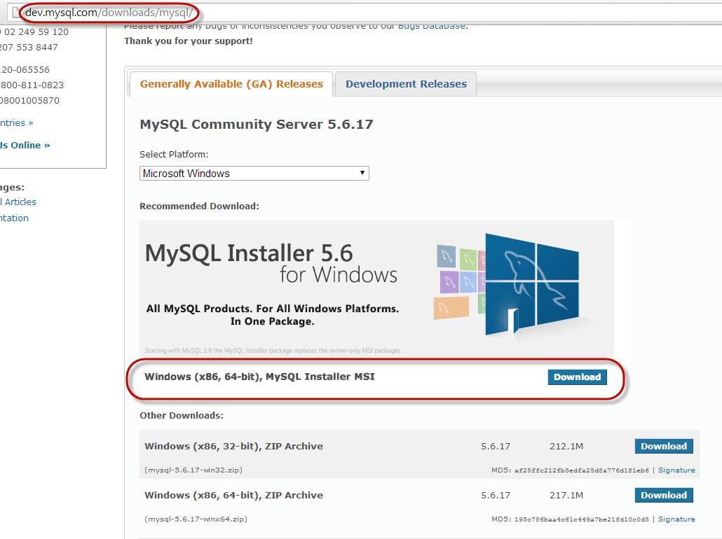 Installing MySQL - Ignition User Manual 7 9 - Ignition Documentation