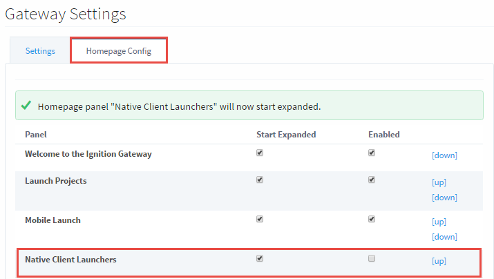 Native Client Launchers - Ignition User Manual 7 9