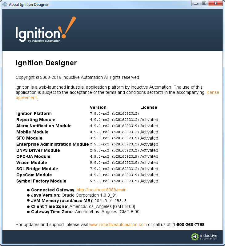 Versioning - Ignition User Manual 7 9 - Ignition Documentation