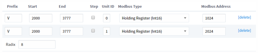 Modbus Address Mapping - Ignition User Manual 7 9 - Ignition