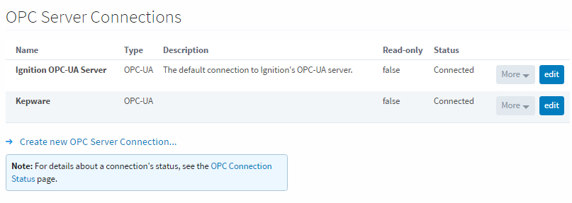 Third Party OPC Servers - Ignition User Manual 7 9 - Ignition